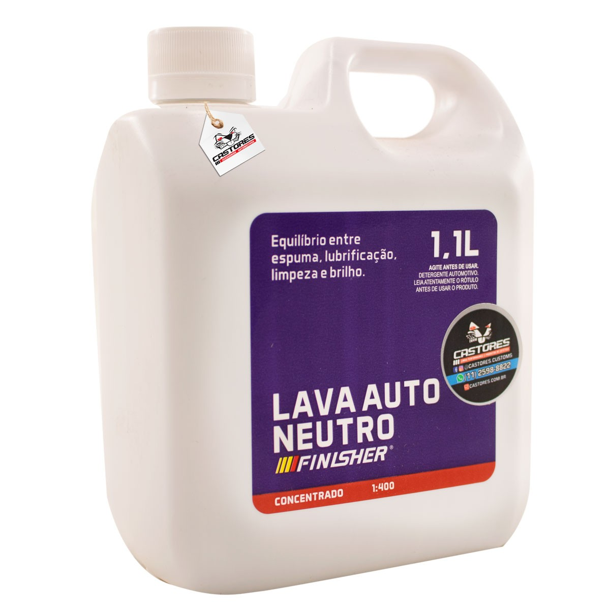 Finisher Lava Auto Neutro 1,1L - Diluivel