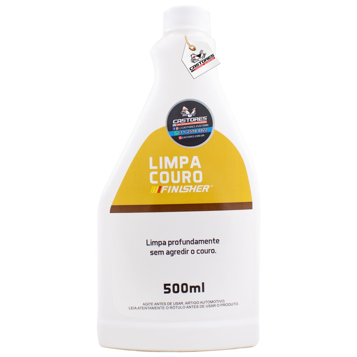 Finisher Limpa Couro Spray - 500ml