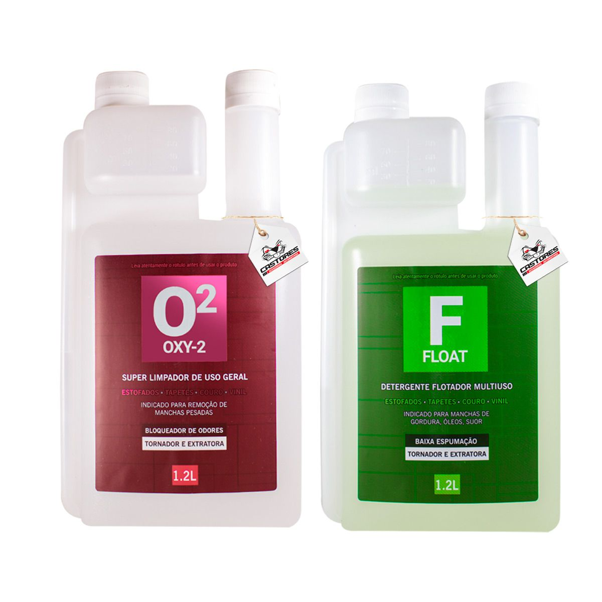 Float Flotador Ph Alcalino + Oxy2 Ph Acido Easytech 1200ml