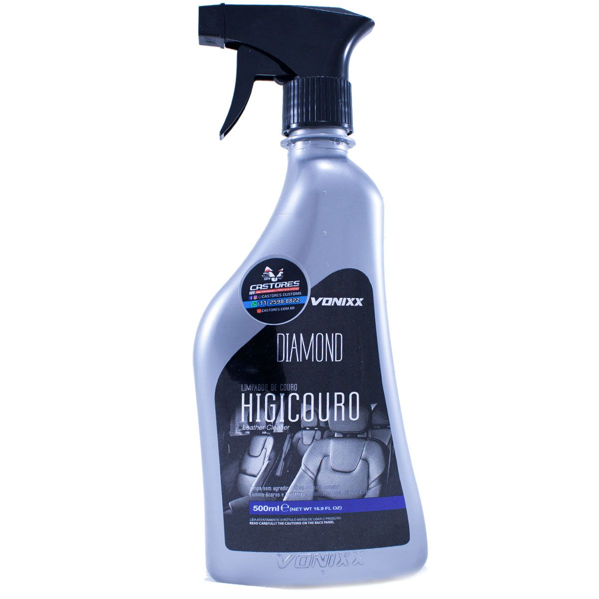 Higicouro Spray Limpa Couro Natural E Sintético Vonixx 500ml