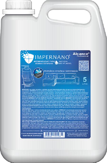 IMPERNANO IMPERMEABILIZANTE DE TECIDO -ALCANCE PROFISSIONAL 5L