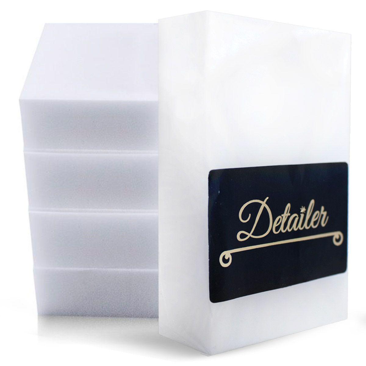 Kit com 5 Esponjas de Melamina Detailer