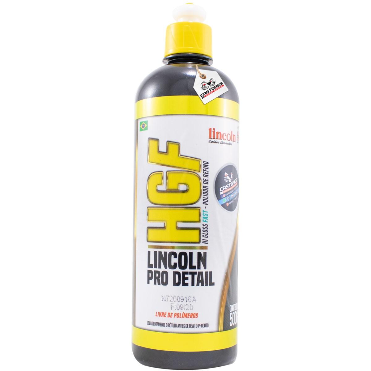 Kit Polimento Fast Lincoln Corte Refino Lustro