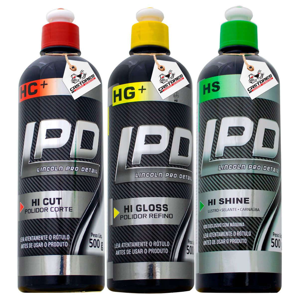 Kit Polimento Profissional Lincoln Lpd