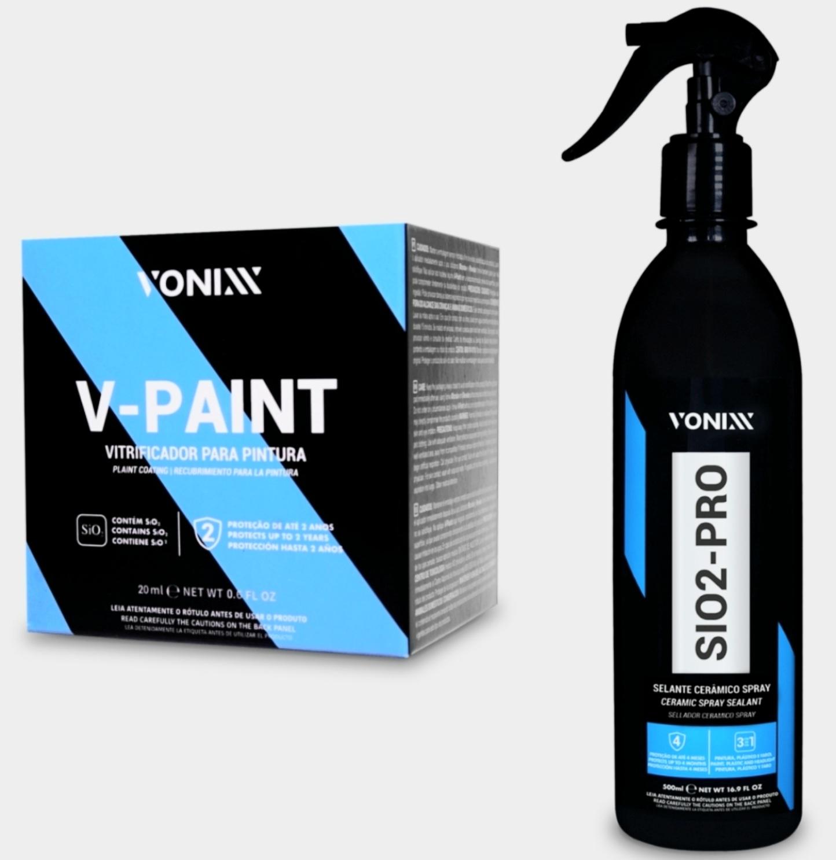 Kit Vitrificação V Paint + Sio 2 Pro