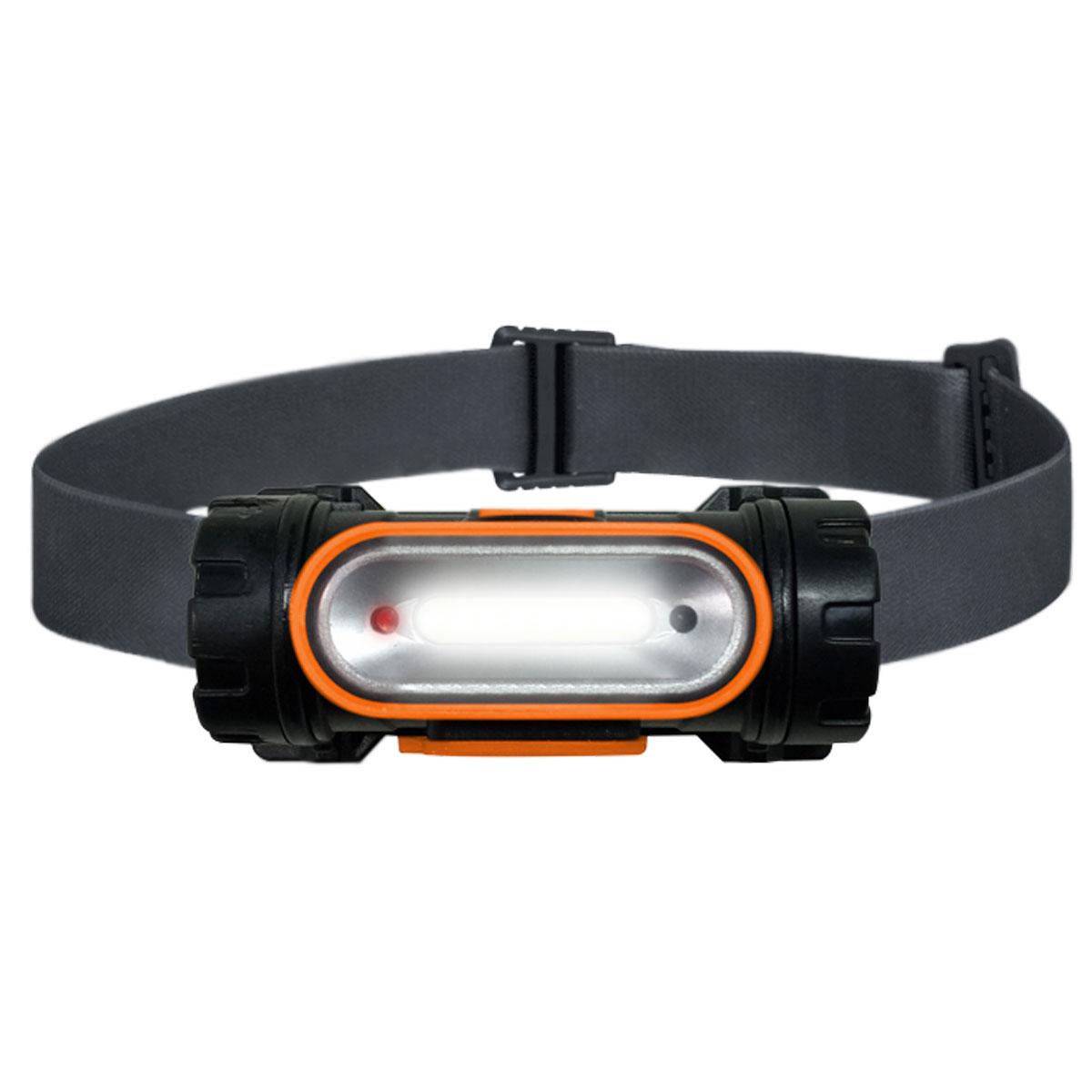Lanterna de Cabeça Recarregável com Sensor SLP-12 LED - Solver