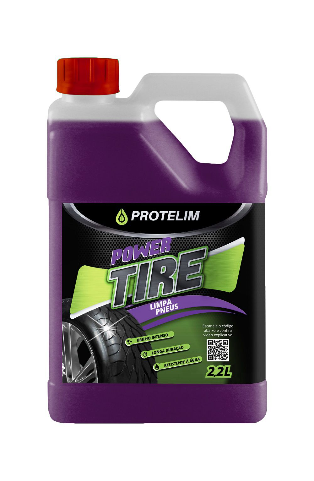 LIMPA  PNEU POWER TIRE 2,2L - PROTELIM