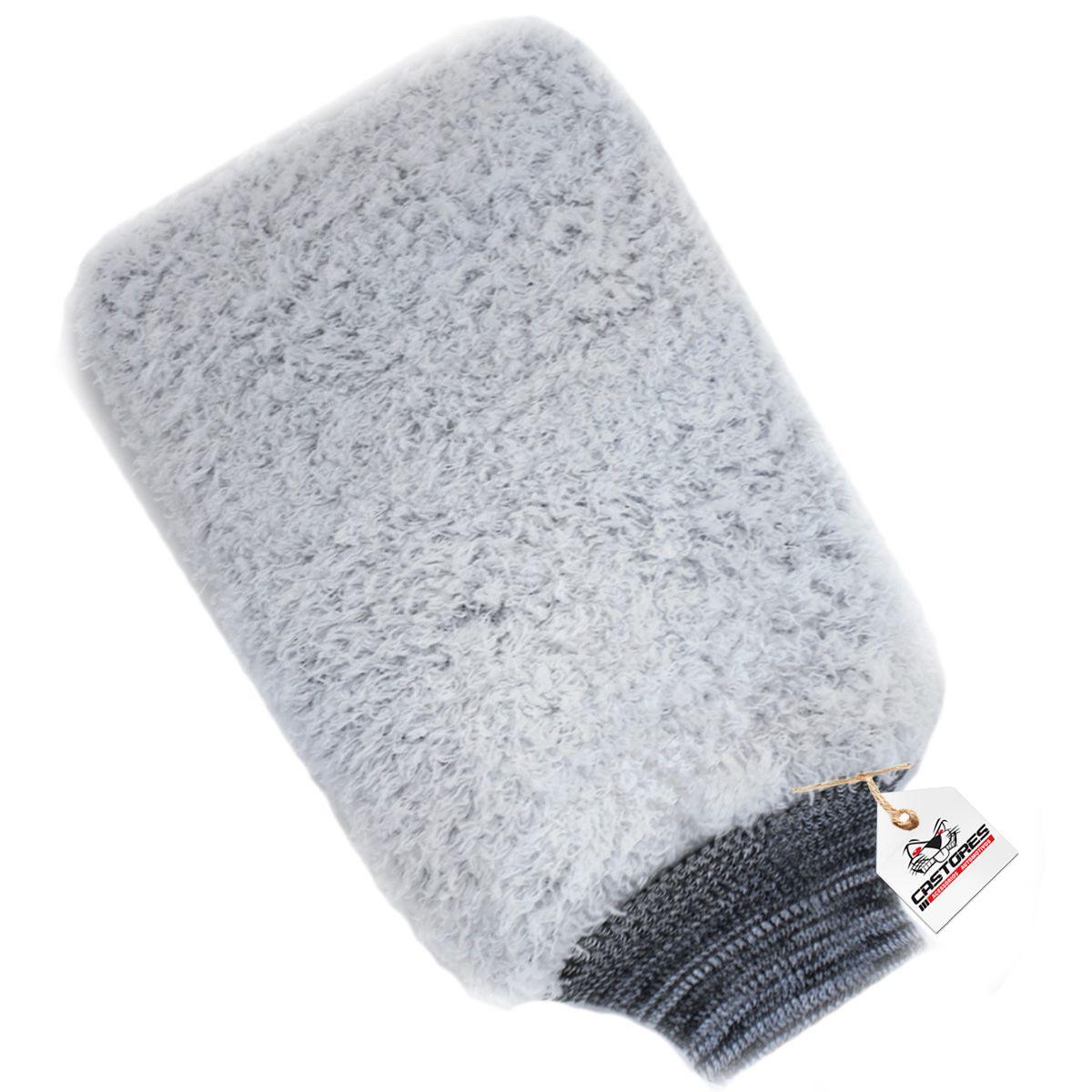 Luva de Microfibra Power Full para Lavagem Automotiva - Detailer