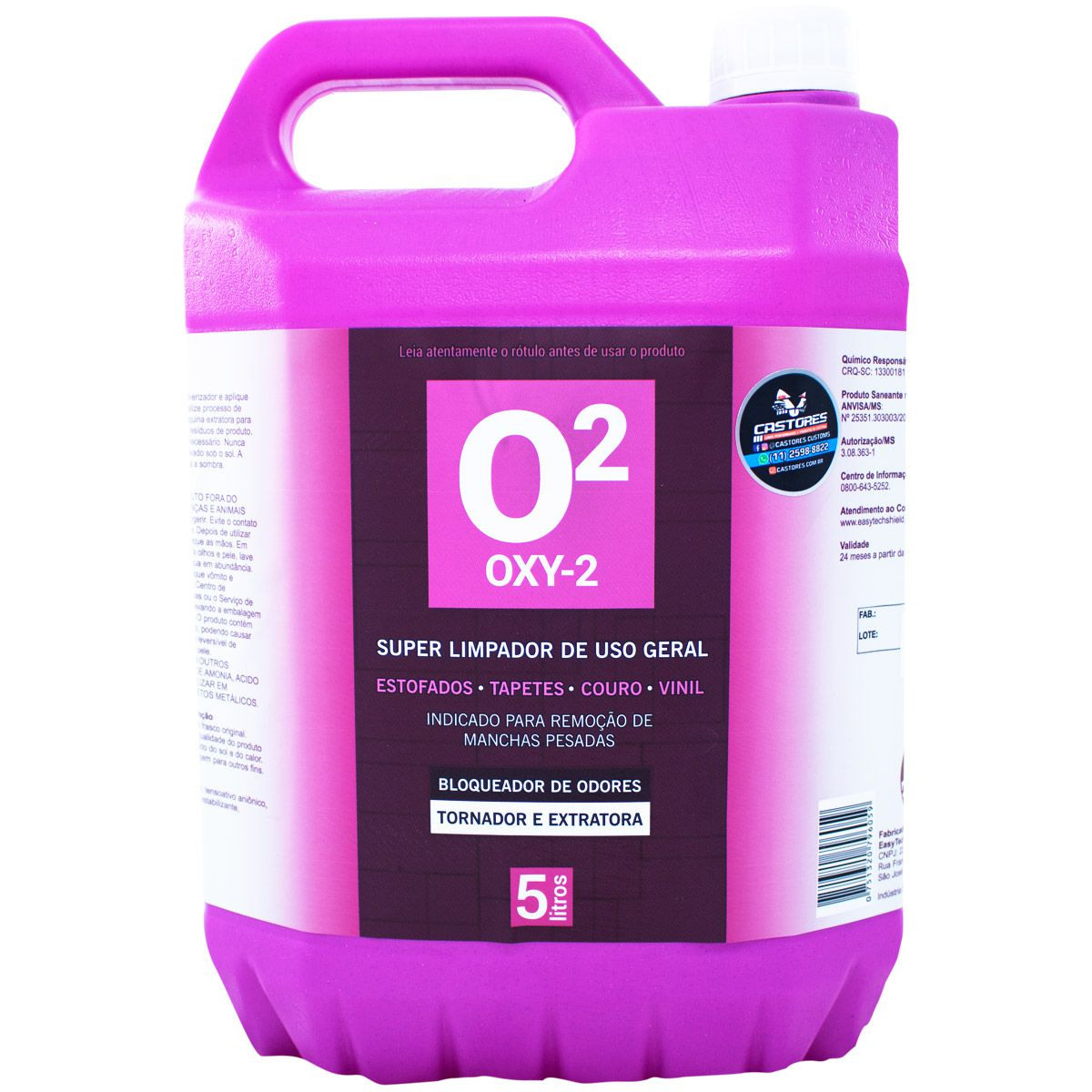 OXY2 LIMPADOR CONCENTRADO PEROXY EASYTECH - 5L