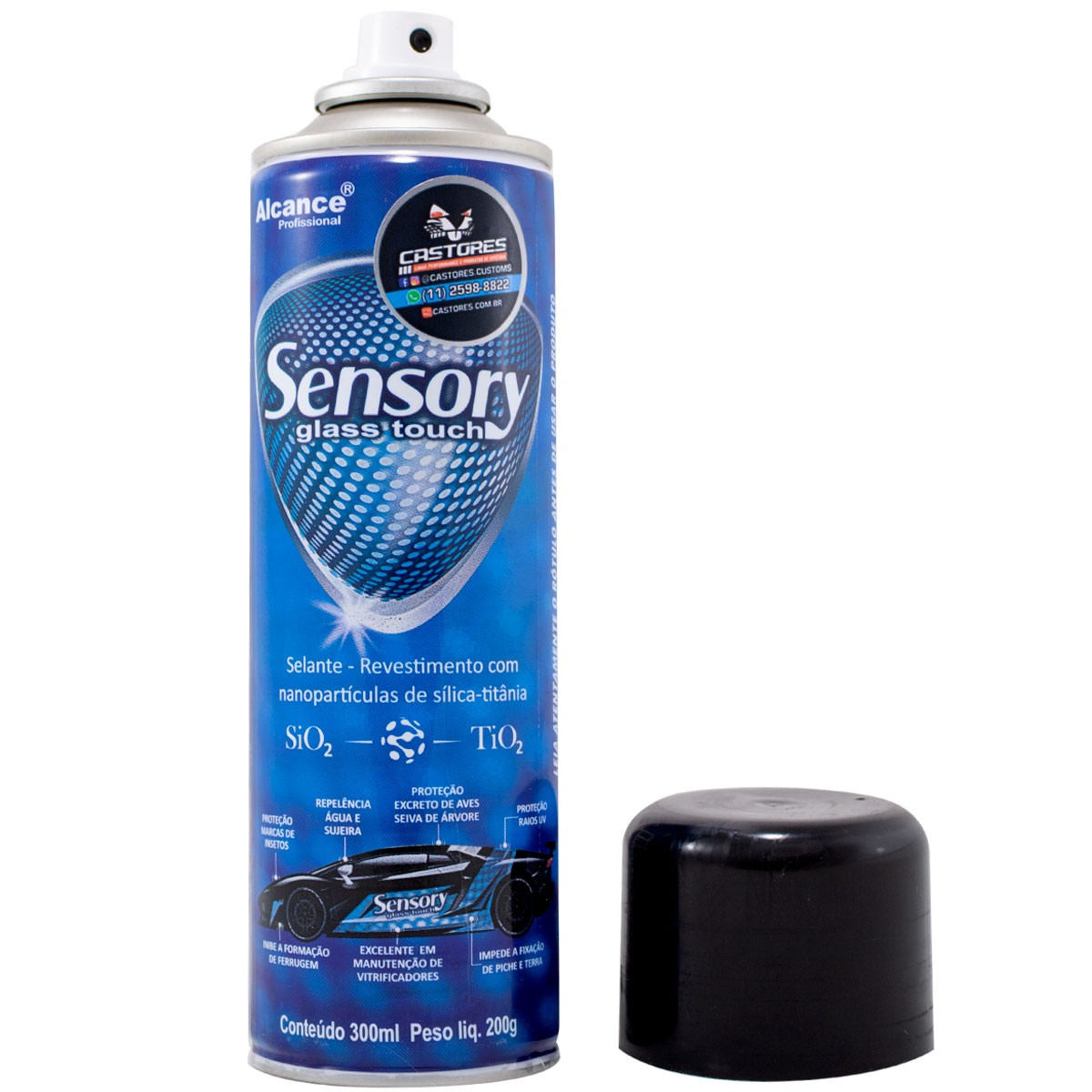 Selante De Pintura Sensory Spray Alcance Profissional - 300ml