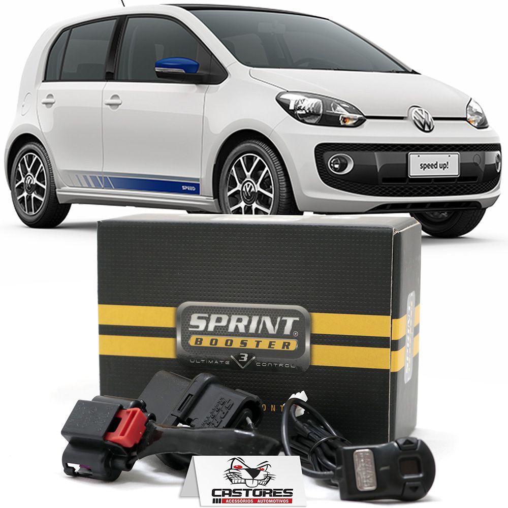 Sprint Booster V3 Vw Golf GTI / Fusca / Jetta TSI / Polo e Virtus 200 TSI / UP TSI / Tiguan 2.0 TSI - RSBD202