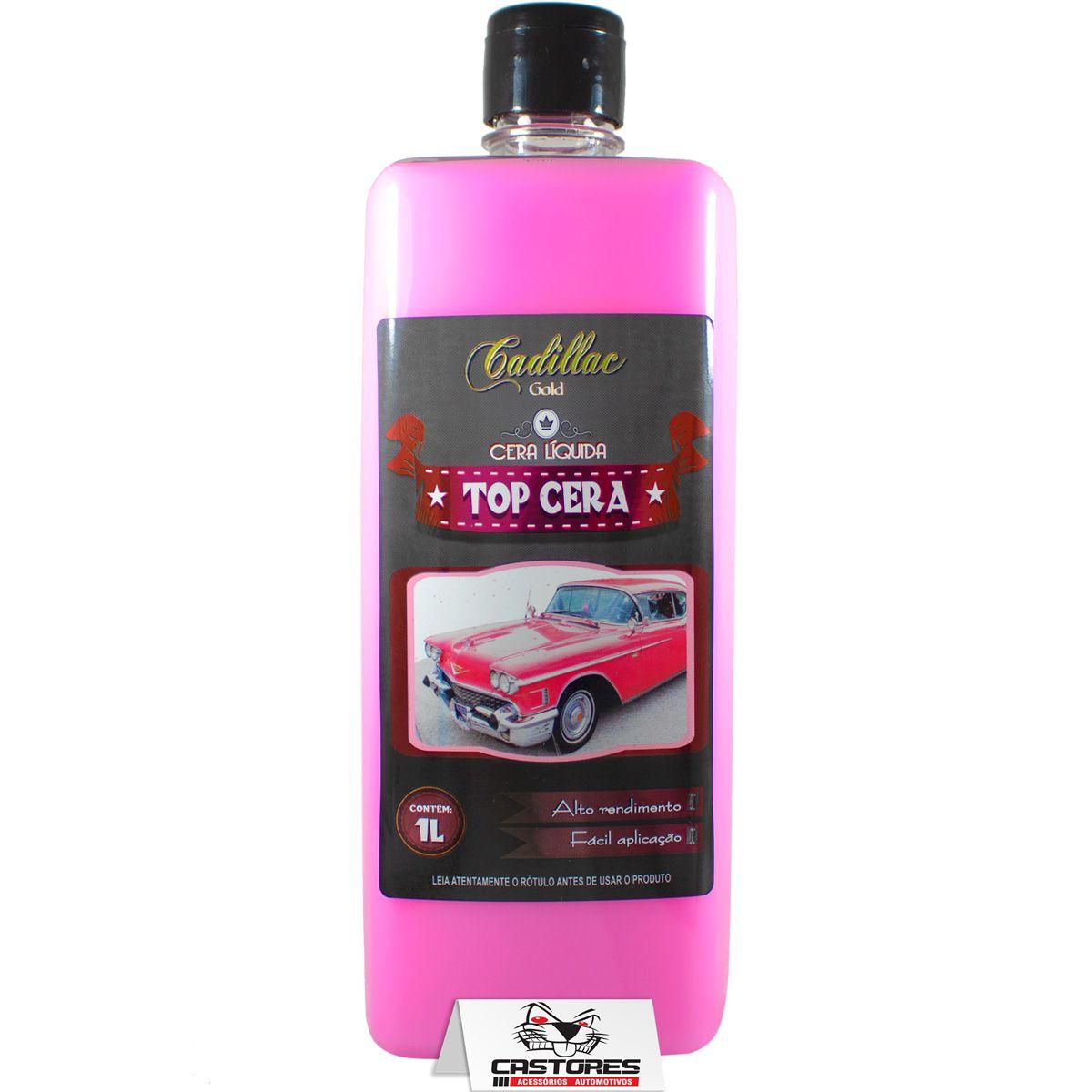 Top Cera Líquida Cadillac 1 Litro Concentrada