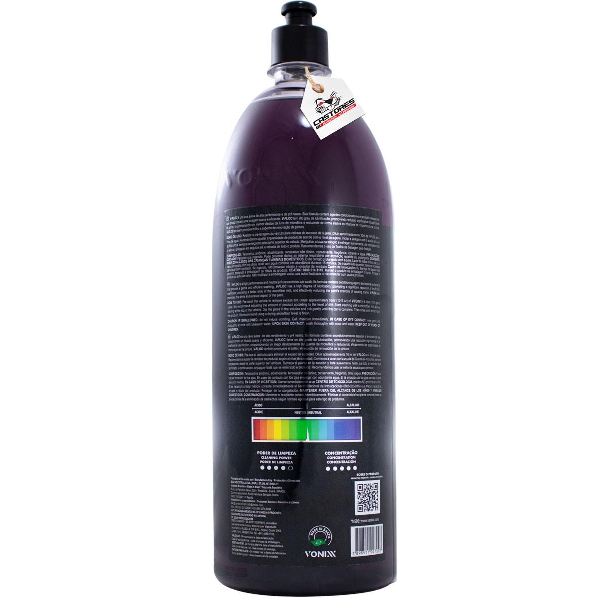 V-floc Vonixx Lava Auto Shampoo Super Concentrado 1,5L