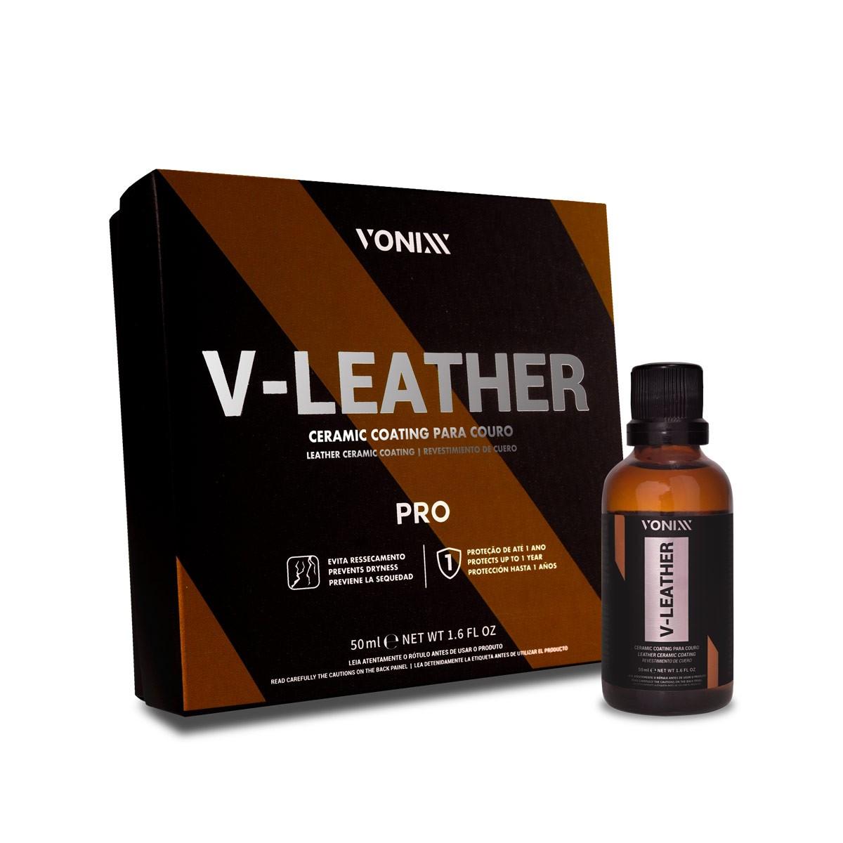 Vitrificador De Bancos De Couro V-leather Vonixx 50ml