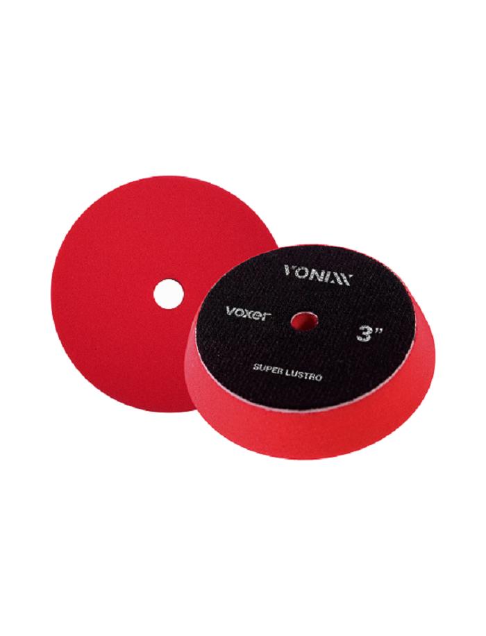 """Vonixx Boina Voxer Super Lustro 3"""" Espuma Vermelha"""