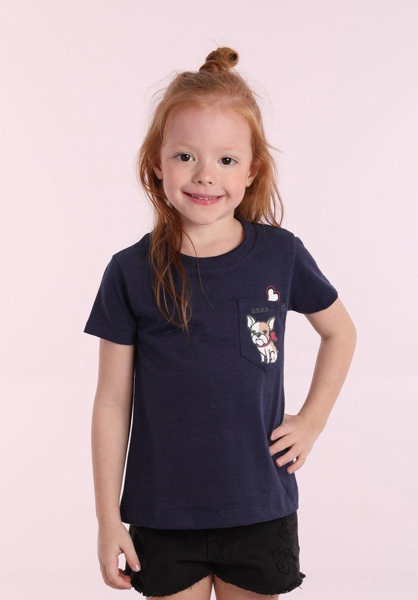 Camiseta Bulldog Girl