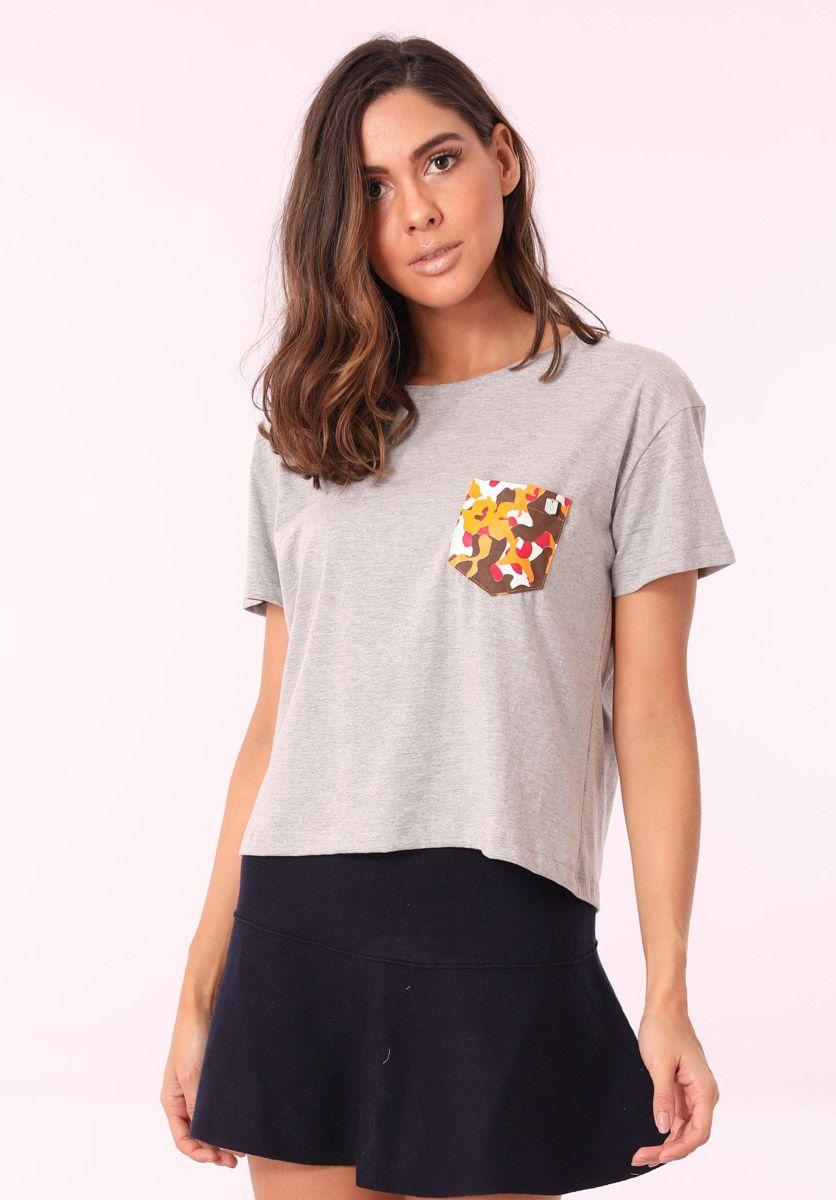Camiseta Camuflado Girl