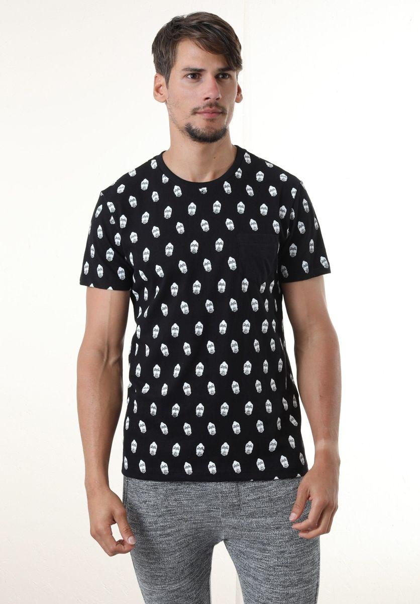 Camiseta Caveirinhas