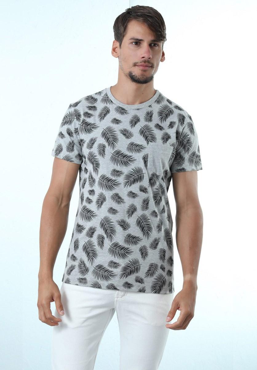 Camiseta Folhas