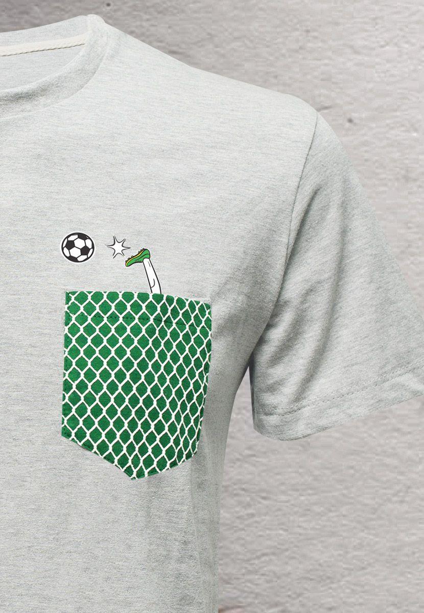 Camiseta Jogador BR (Infantil Feminino)