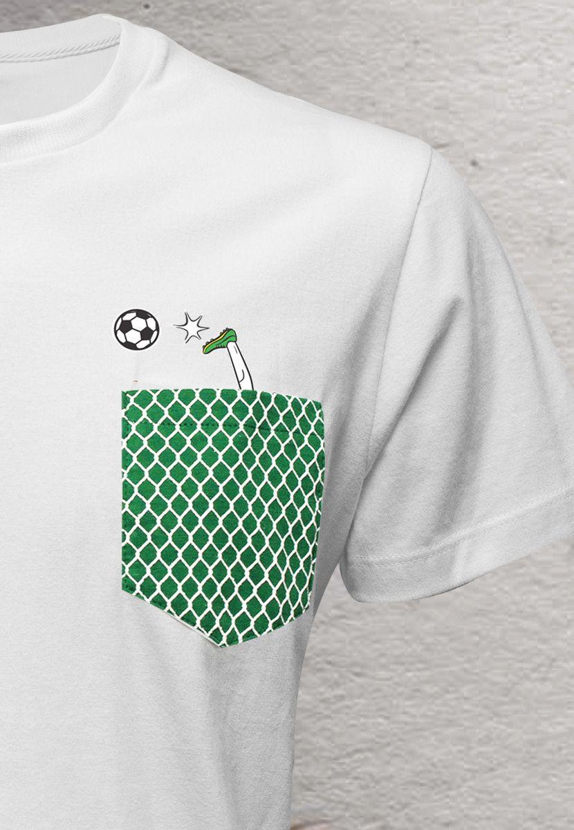 Camiseta Jogador BR (Infantil Masculino)