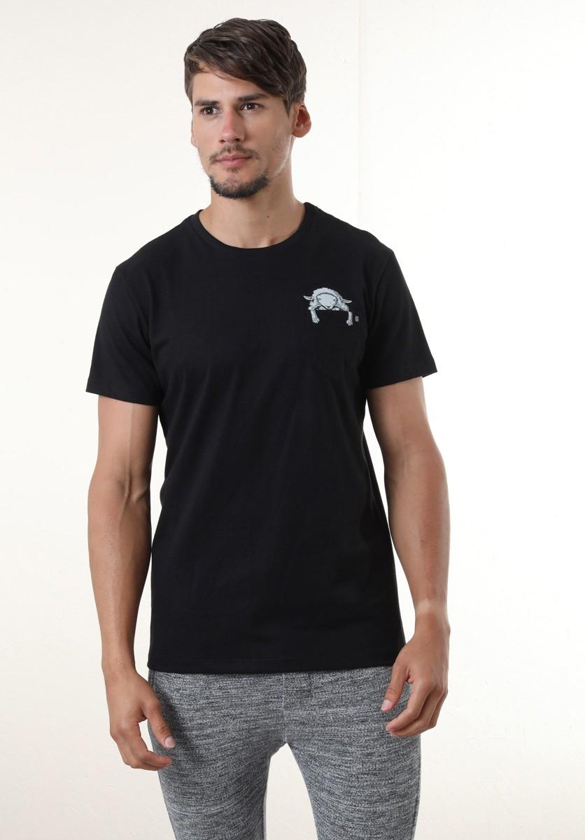 Camiseta Lobo em Pele de Cordeiro