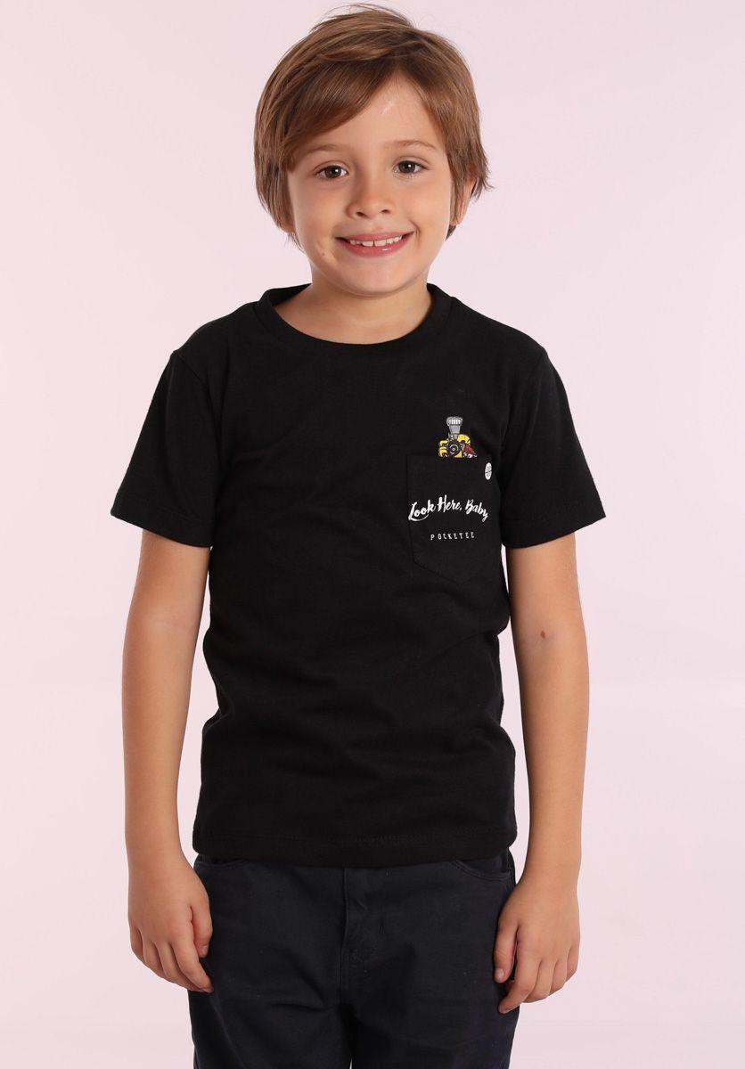 Camiseta Look Here Baby