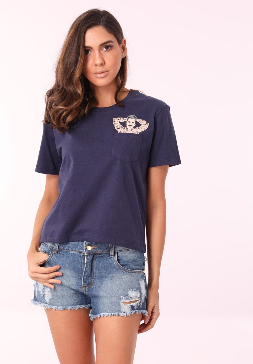 Camiseta Pin Up Male