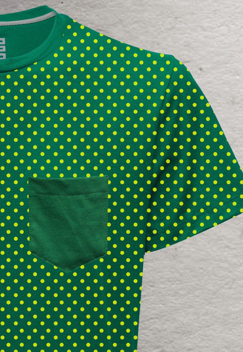 Camiseta Poá Color Brasil (Feminino Adulto)