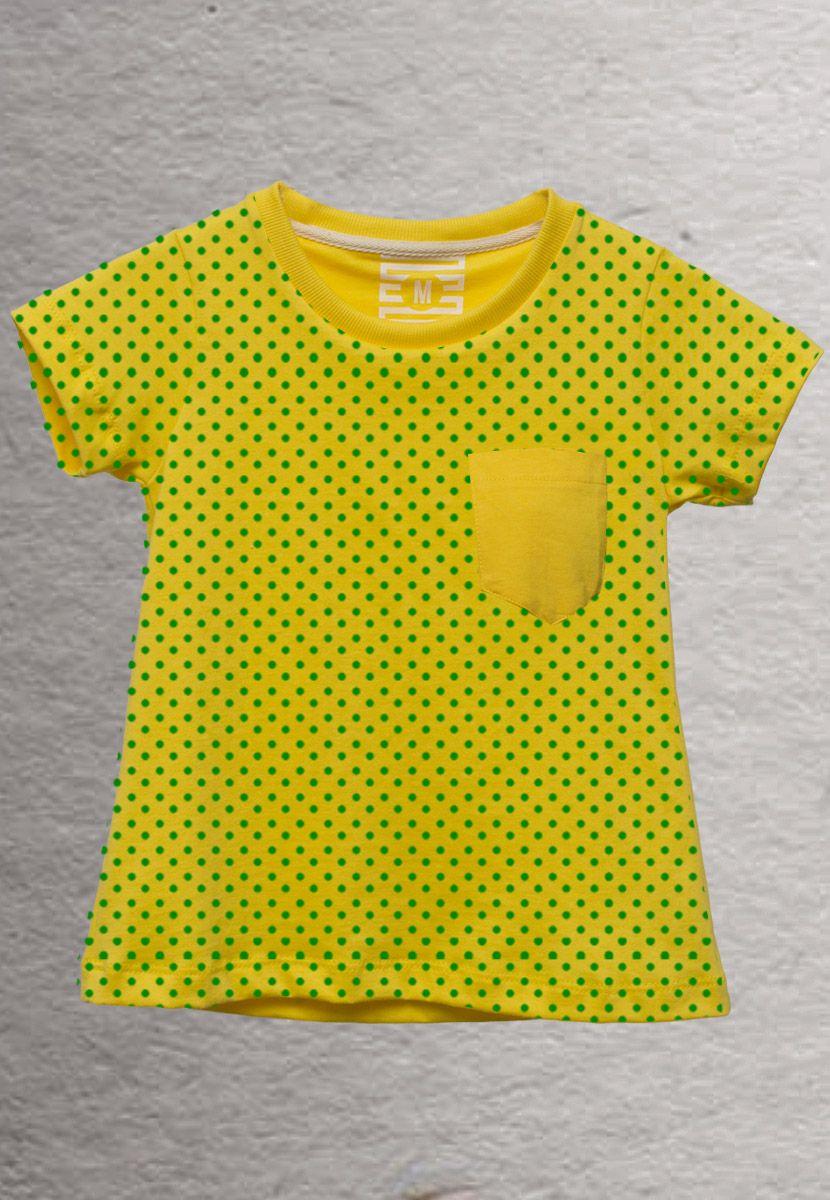 Camiseta Poá Color Brasil (Infantil Feminino)