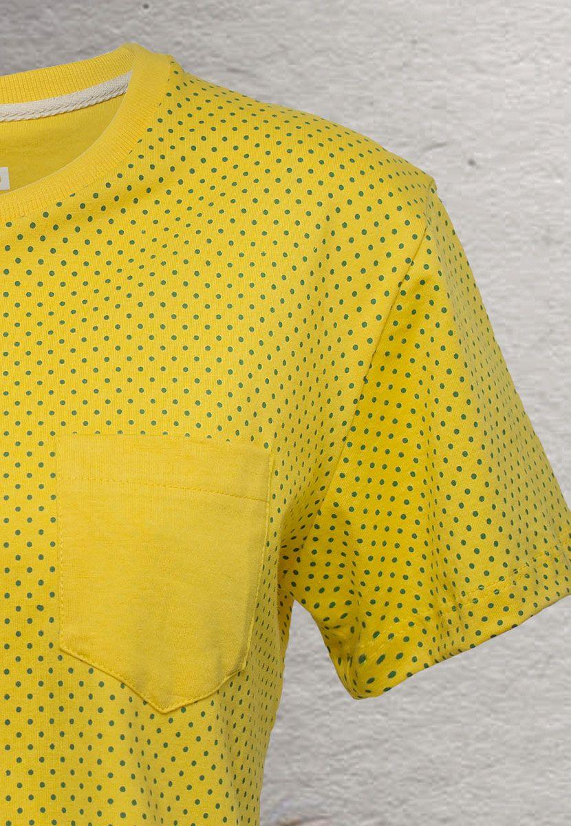 Camiseta Poá Color Brasil (Infantil Masculino)