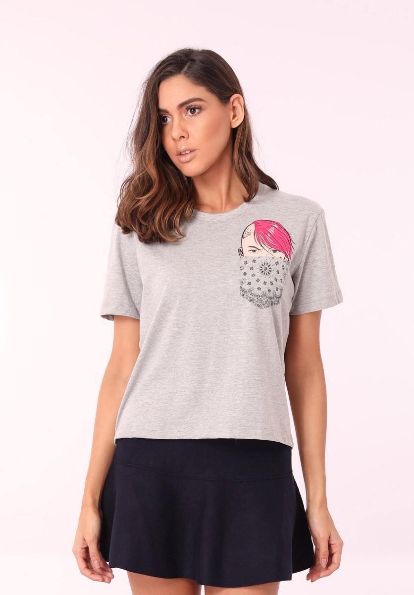 Camiseta Punk Girl