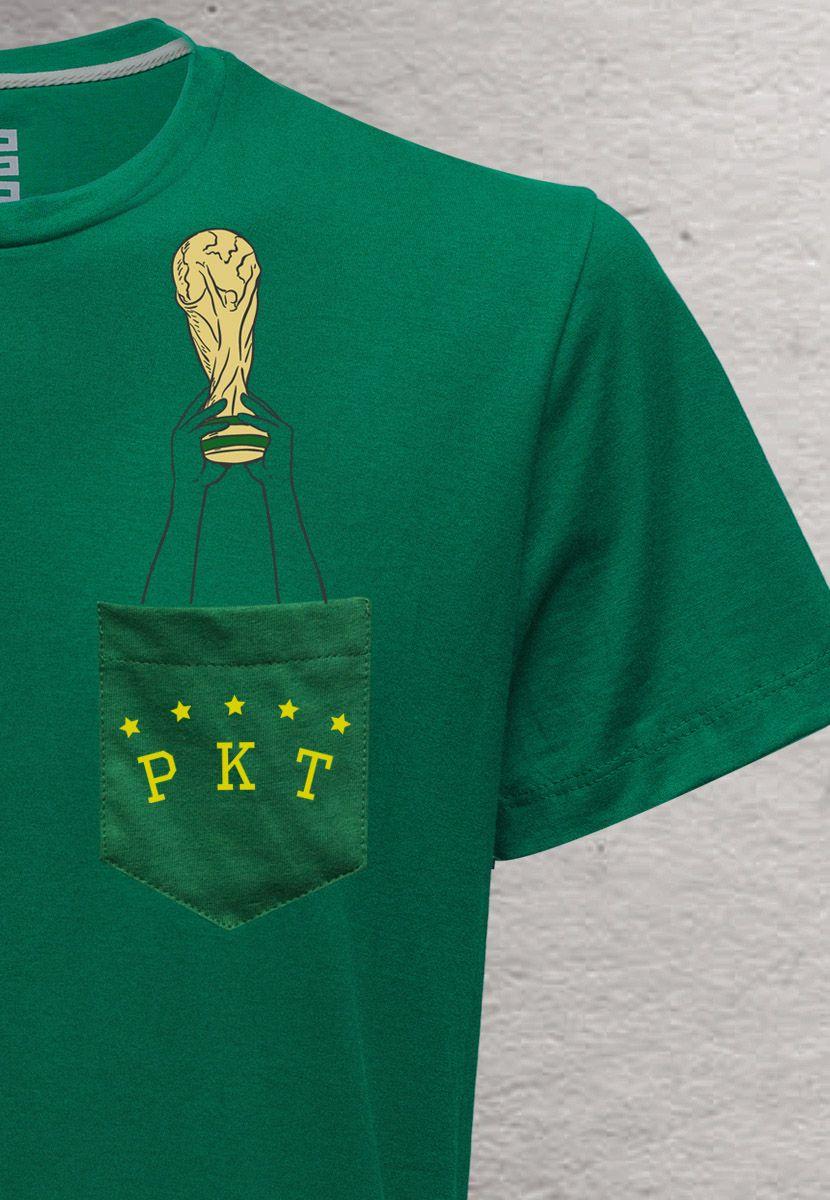 Camiseta Taça do Mundo BR (Feminino Adulto)