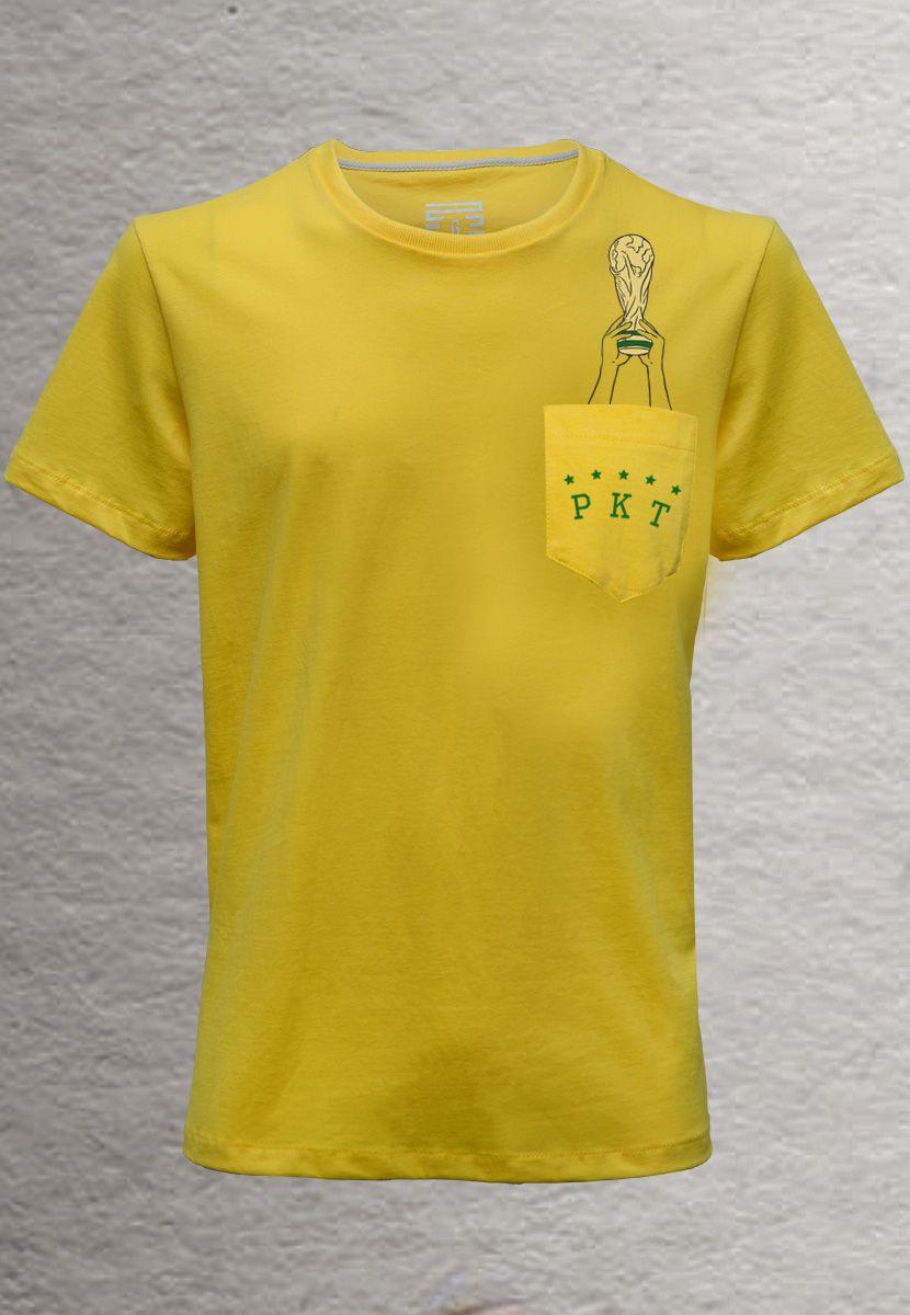Camiseta Taça do Mundo BR (Masculino Adulto)