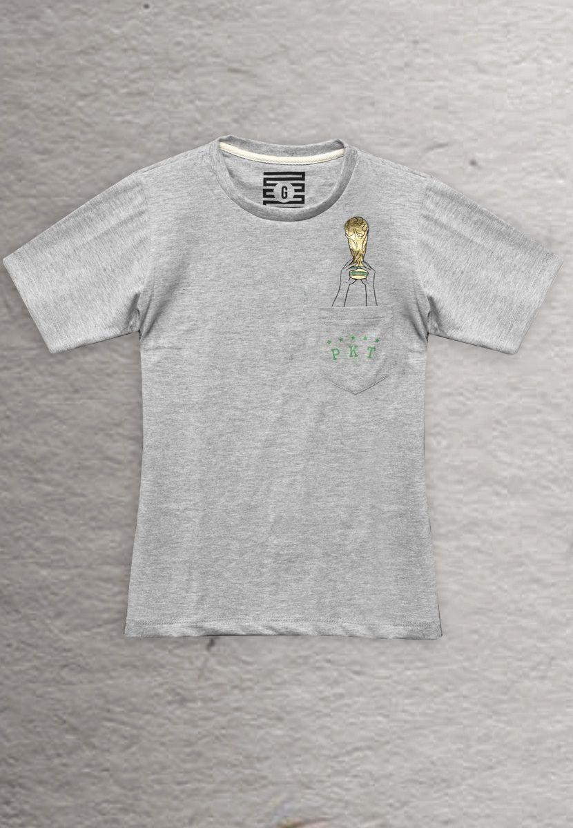 Camiseta Taça do Mundo BR (Masculino Infantil)