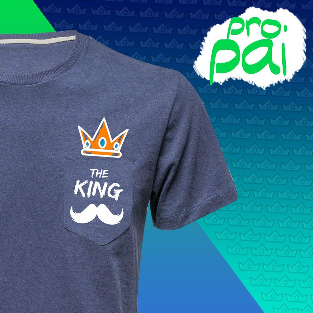 Camiseta THE KING (Masculino Adulto)