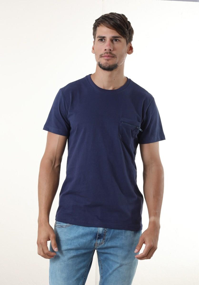 Camiseta Ziper Trator