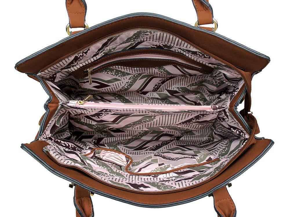 Bolsa Croco Estruturada