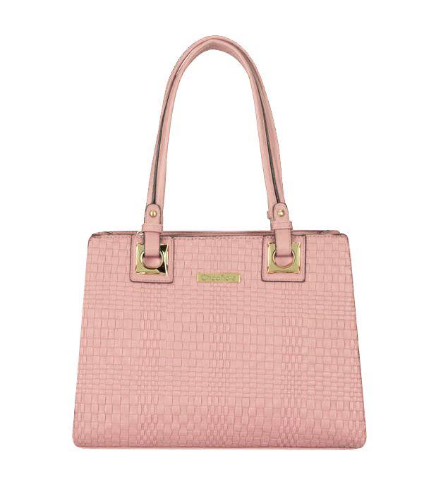 Bolsa Feminina Pink Estruturada