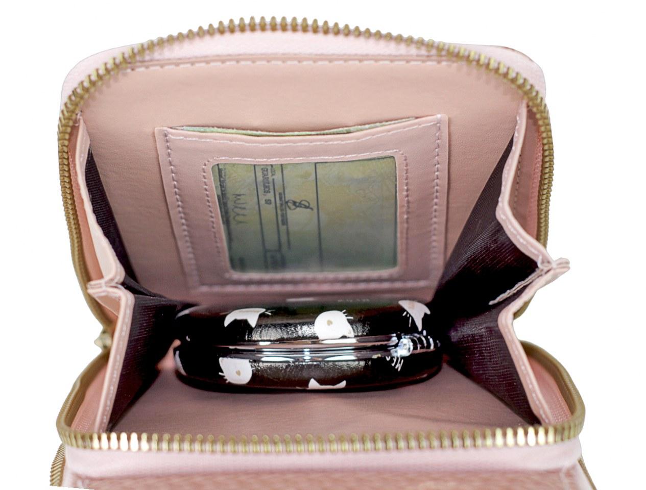 Bolsa Transversal Porta Celular Tipo Carteira
