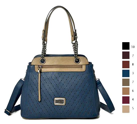 Bolsa Feminina Na Cor Azul : Bolsa feminina ombro de alta qualidade cor bege na promo??o