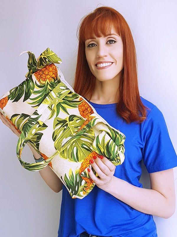 Bolsa Laço - Abacaxi