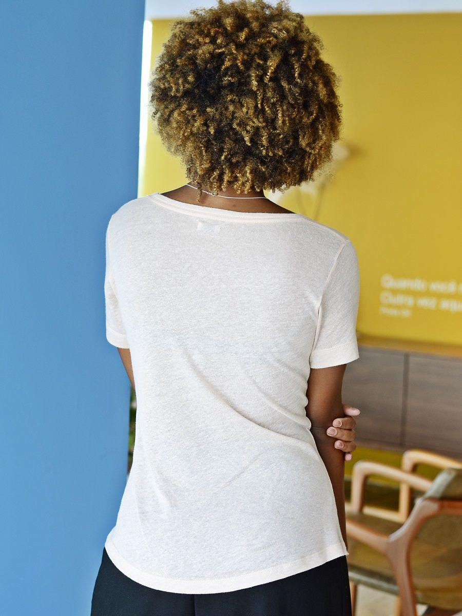 Camiseta Elegance - Blush