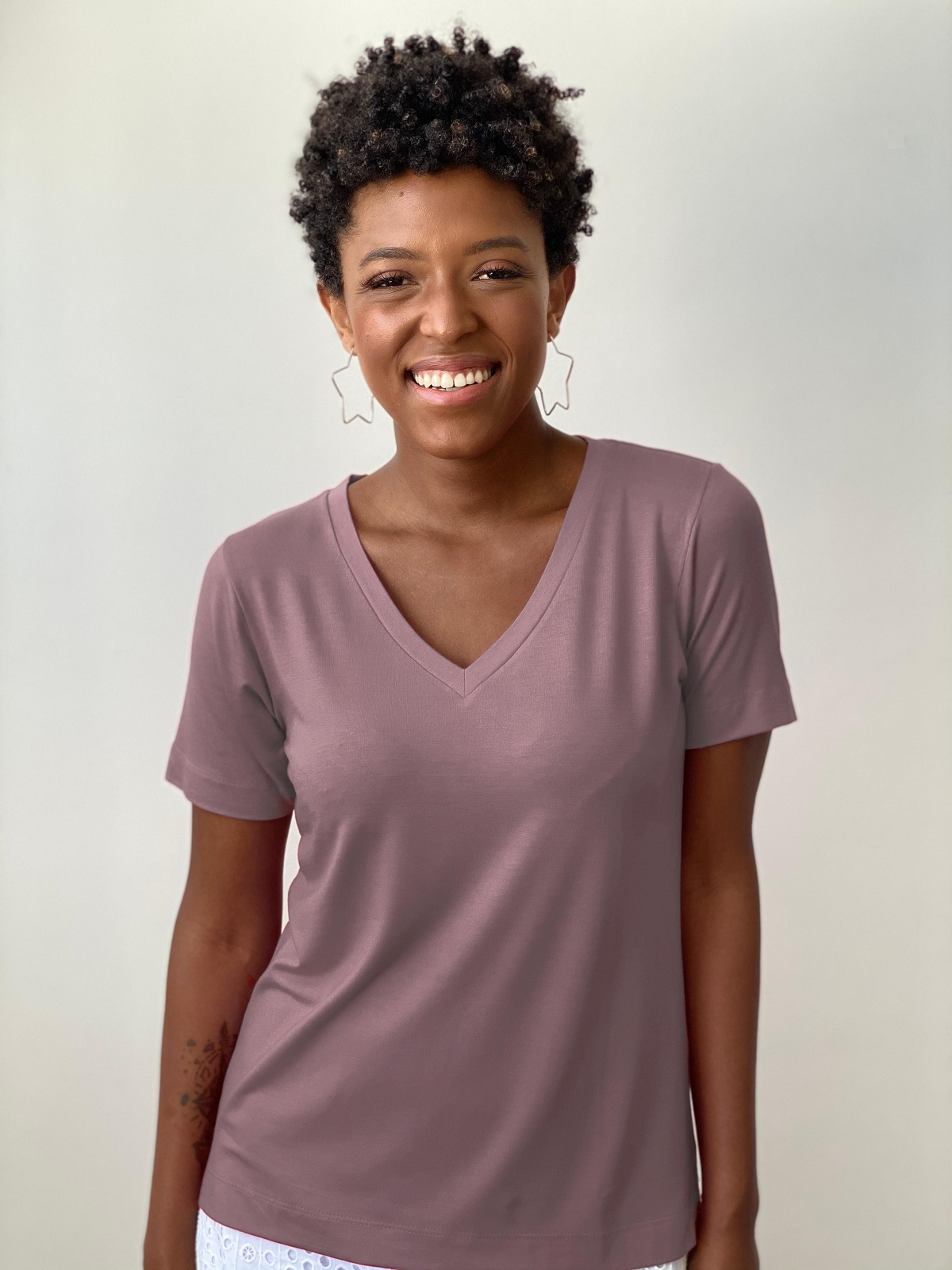 Camiseta Fashionista - Ametista