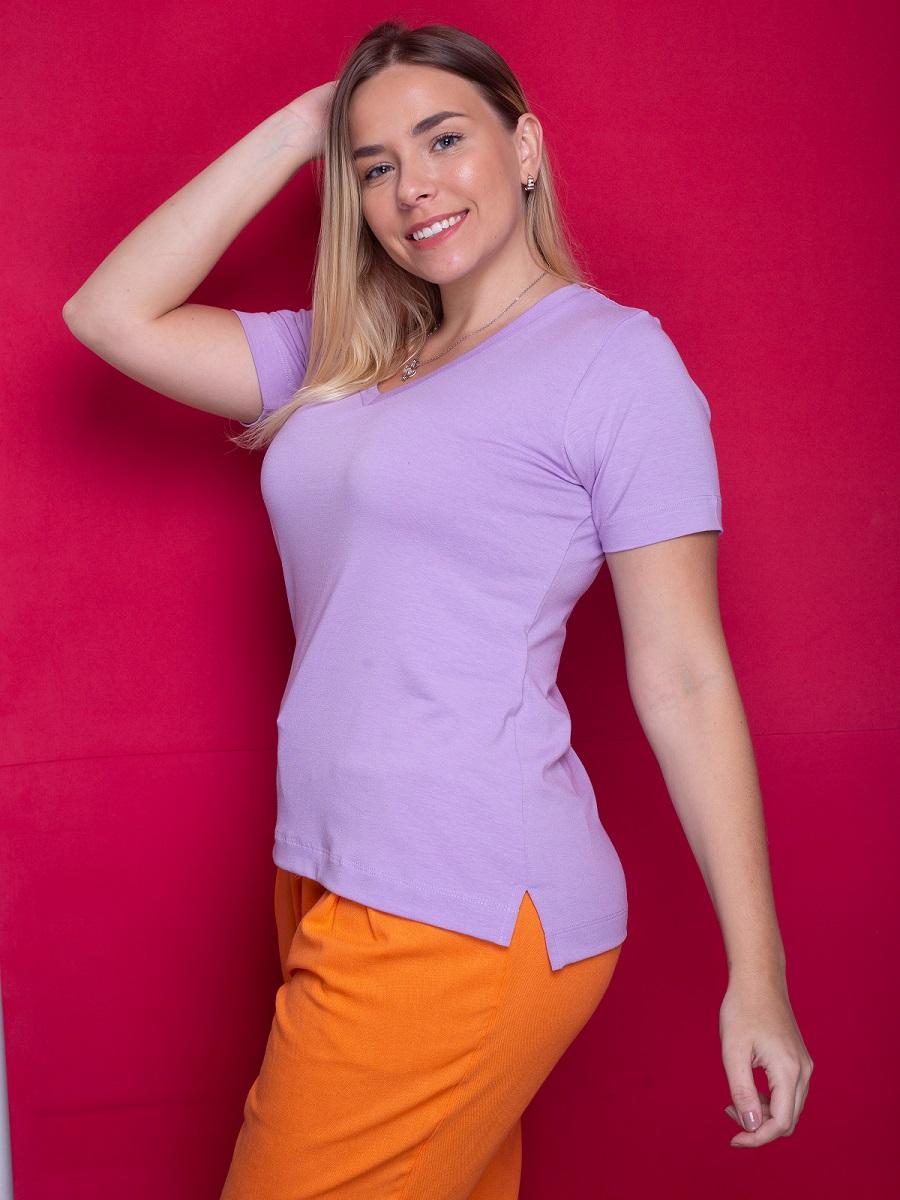 Camiseta Fashionista - Lavanda