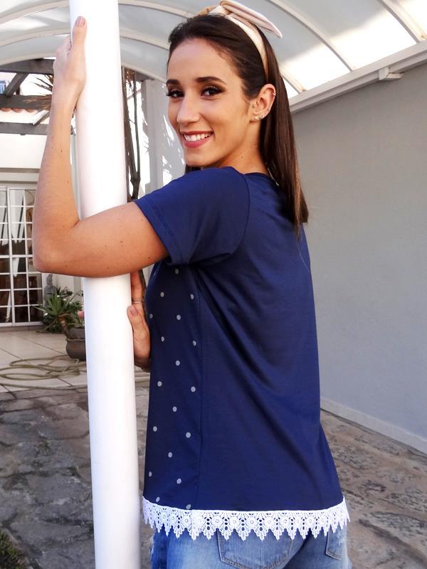Camiseta Poá - Marinho