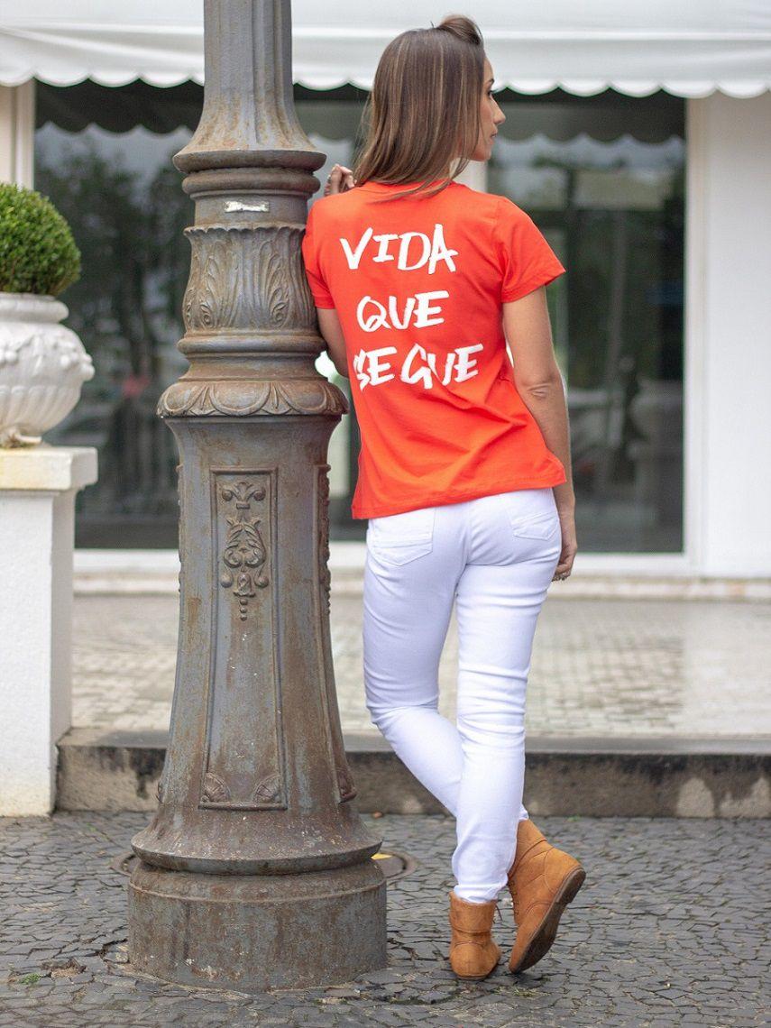 Camiseta Vida Que Segue