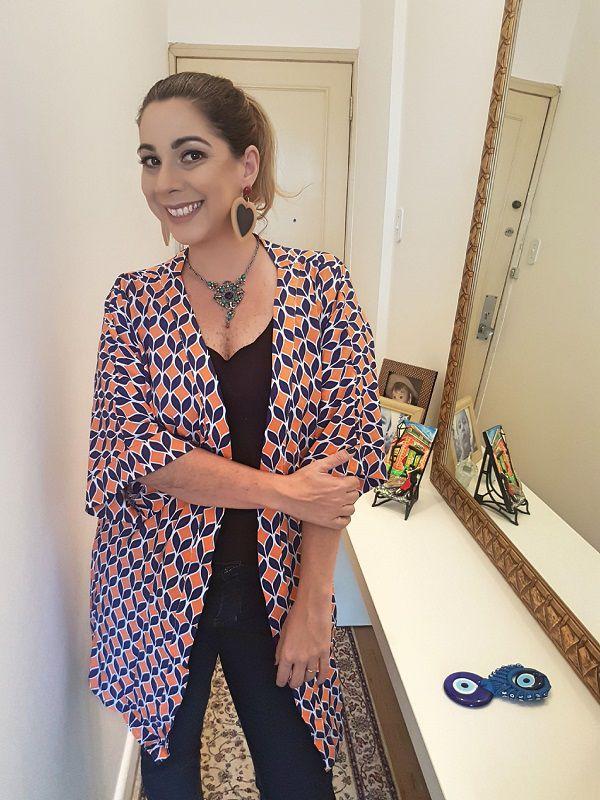 Kimono Cauda de Sereia