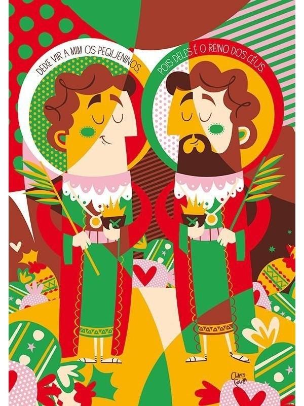 Poster Cosme & Damião - A3