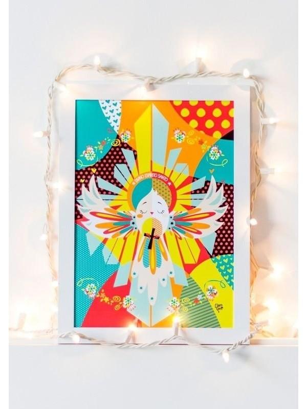 Poster Divino Espírito Santo - A3